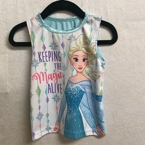 """Frozen Elsa Shirt-2T-""""Keeping the Magic Alive"""""""